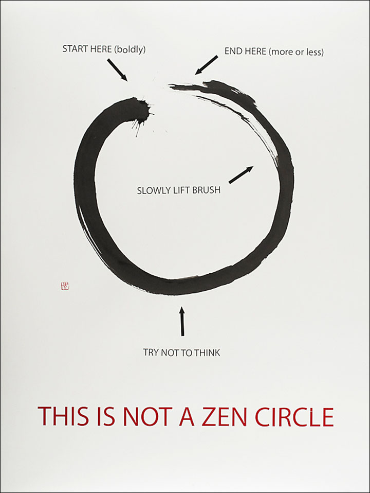 This is not a zen circle mario uribe